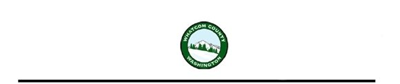Whatcom County Seal for letterhead