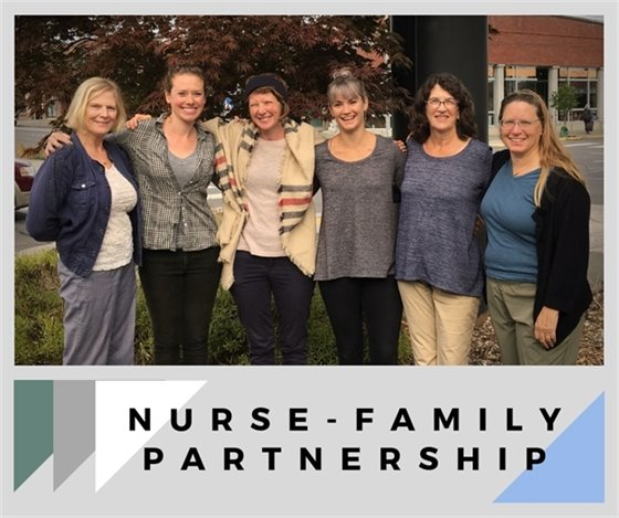 Photo of WCHD's Nurse-Family Partnership Team