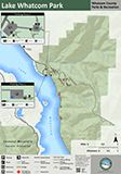 Lake Whatcom Park map icon 112x160