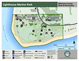 Lighthouse Marine Park map icon 160x124