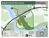 Nugent's Corner River Access map icon 160x124 Opens in new window